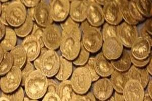 Roman Gold coins found in Italian theatre